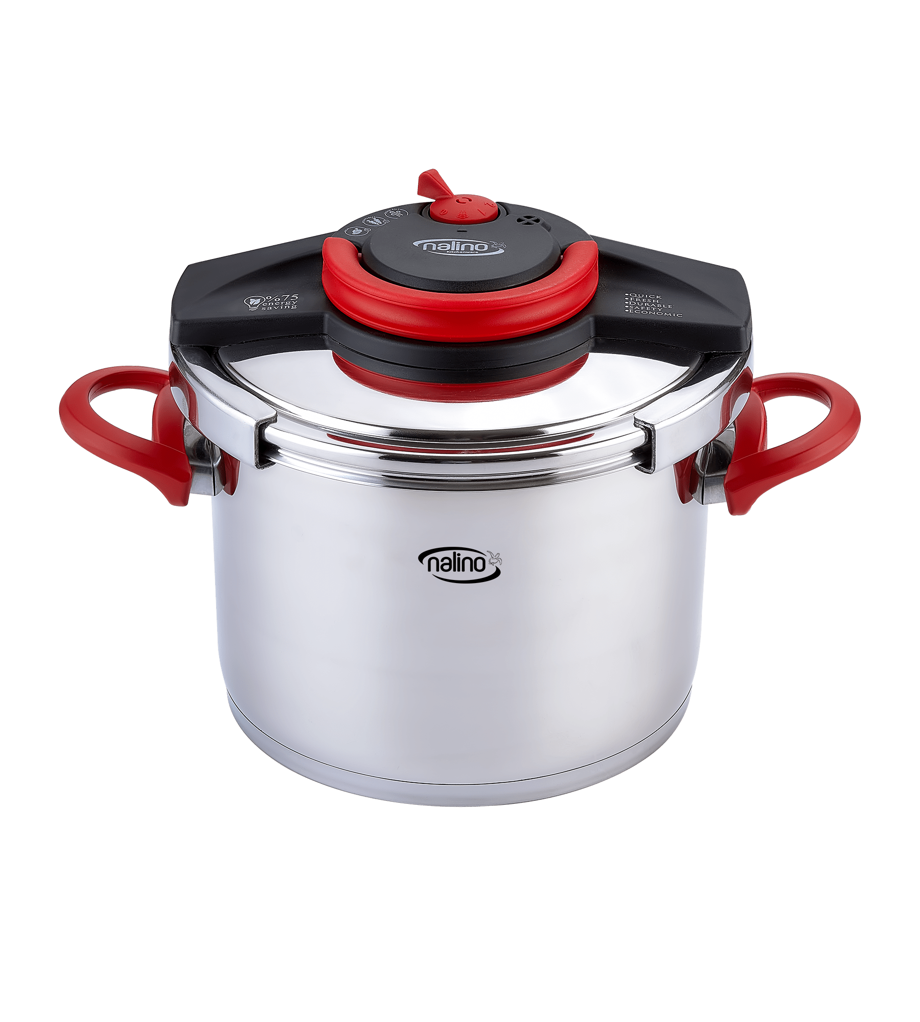 pressure cooker red single